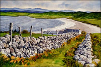 Watercolor paintings of Ireland